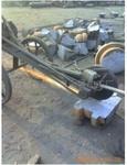 大铁块加工破生铁切割钢板打磨铸件图片