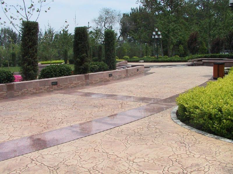 上海东方压模地坪材料公司