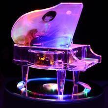 供应水晶钢琴音乐盒送礼佳品
