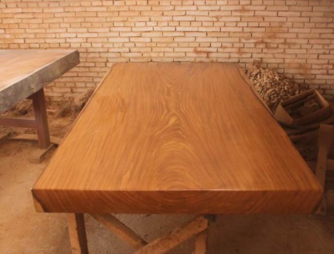福州/福州奢华实木花梨木大板福州长条桌饭桌餐桌精选优良材质