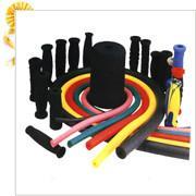 NBR发泡管 彩色橡塑管 橡胶管图片