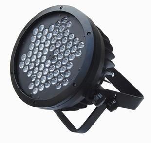 供应雅淇72颗3W铸铝帕灯  LED大功率 投光灯 PAR灯 侧光