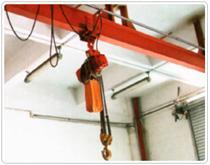 供应简易手动、电动单梁起重机
