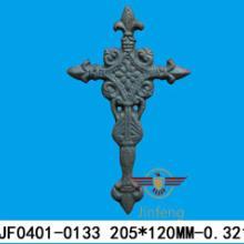 供应生铁铸铁十字架JF0401-0133各种款式十字架金属工艺品批发
