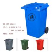 广东佛山100L移动垃圾桶图片
