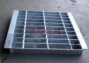 钢格栅板、插接钢格板图片