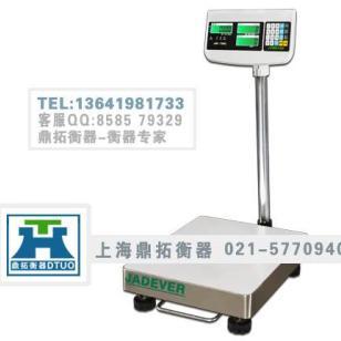 上海知名电子磅秤200kg电子台称图片