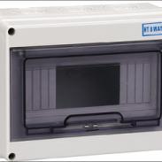 HT配电盒塑料防水配电箱8回路图片
