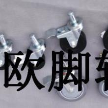 供应防静电4寸膨胀式灰色导电线棒脚轮|精益管导电轮批发