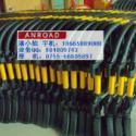 黑黄护栏隔离围栏图片