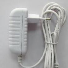 供应欧规白色电源适配器外壳白色充电器12V1A