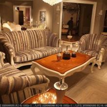 厂家定制法式实木家具组合,典雅高贵,客厅沙发,餐厅餐桌,卧室大床