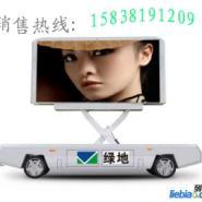LED显示屏车车载显示屏广告车图片