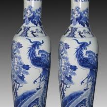 专业制作陶瓷大花瓶 手绘青花瓷大花瓶 酒店装饰大花瓶 陶瓷大花瓶厂家