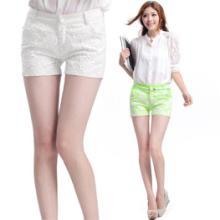 供应清仓处理夏季女式休闲裤糖果色短裤批发