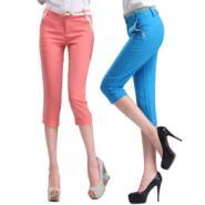 夏季韩国铅笔裤韩版女式休闲裤图片
