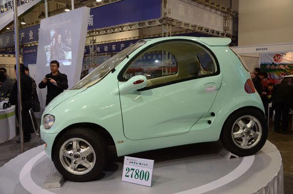 微型电动汽车 微型电动汽车供货商高清图片