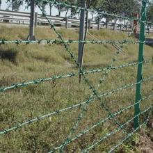 供应高速公路刺铁丝隔离栅高速公路刺网刺铁丝护栏网批发