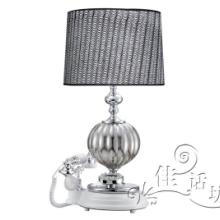 供应JHF-9065卢特电话台灯,工艺台灯,欧式古典台灯,宾馆台灯批发