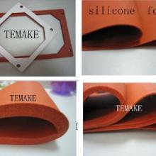 单面带胶模压硅胶海绵垫