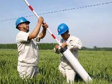 供应拉线警示管 贵州 贵阳 七孔梅花管 超声波驱鸟器 任丘宏运 拉线警示管七孔梅花管