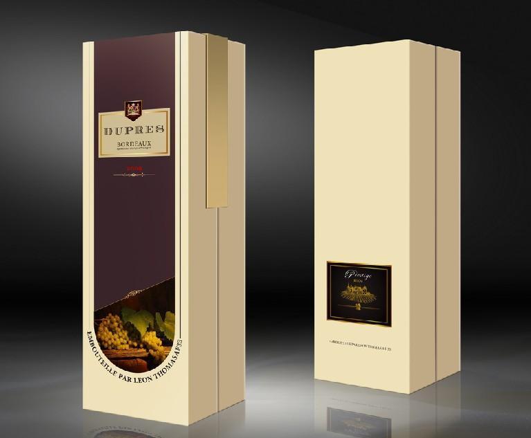 酒盒包装_高档酒盒包装平面图图片