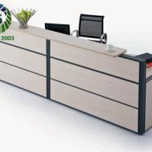 供应办公家具QT-3屏风式前台,屏风式前台定做价格,屏风式前台尺寸图片