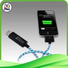 供应发光手机线发光iphone5手机线厂家