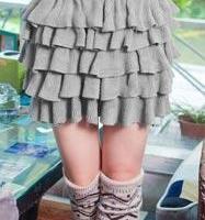 太平鸟女士半身裙