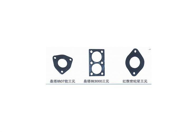汽车消声器法兰图片/汽车消声器法兰样板图 (1)