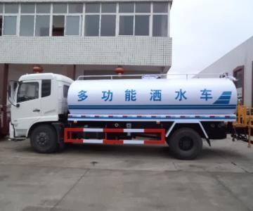 供应国四东风10吨洒水车中联喷洒车图片