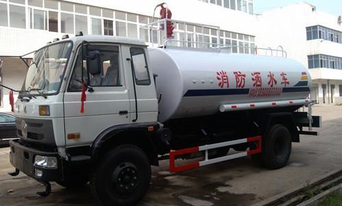 供应国四东风4吨喷雾洒水车路面喷洒车图片