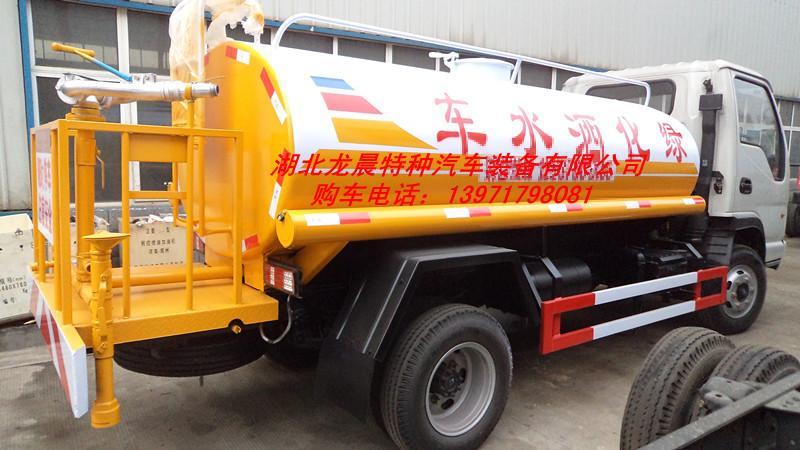供应国四东风5吨洒水车清洁喷洒车图片