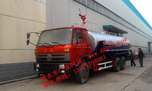 供应东风天龙18吨国四洒水车图片