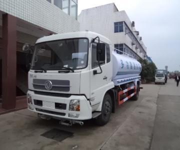 供应东风天龙18吨洒水车南平绿化洒水车哪里有卖图片