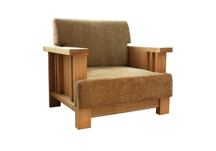 北欧风格实木单人沙发图片 北欧风格实木单人沙发样板图 北欧风格实