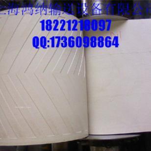 人字纹pvc输送带花纹爬坡带图片