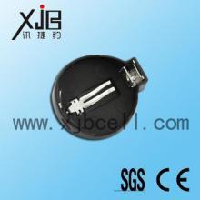 供应BS-CR2032-1绝缘电池座,电池配件材料