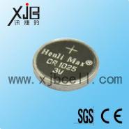 CR1025锂锰扣式电池图片