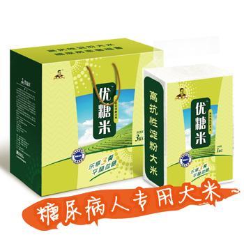 供应调节血糖血脂功能性主食优糖米