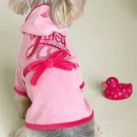 宠物小狗睡衣可做浴袍用