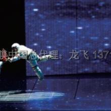 凤城3d拼图模型背景立体拼图 展示专用透明背投膜