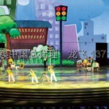 镇江红外式触摸屏 3d拼图模型展示专用透明背投膜