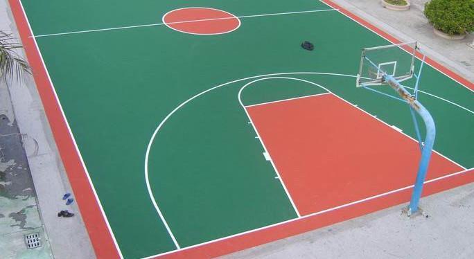 供应篮球场地施工篮球场施工