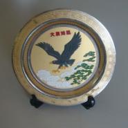 黄山纪念金盘制作图片