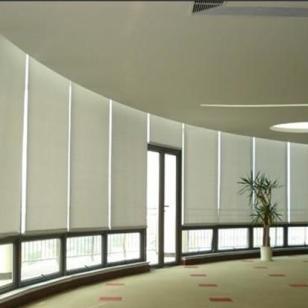 宁波办公室卷帘窗帘上门测量安装图片