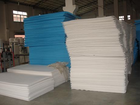 供应东升珍珠棉白色片材10T复合料