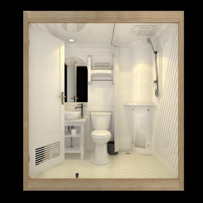 日本塑料整体浴室