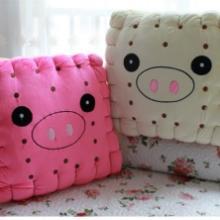 供应小猪造型坐垫,增高坐垫椅垫超厚14厘米超软毛绒坐垫批发