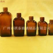 厂家现货供应茶色15ML四方型精油瓶图片